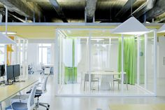 Wix offices by Inblum - Ceiling Plane