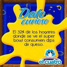 Hace 26 segundos #SuperBowl50 #DatoCurioso #elcuatro #delagranjaasucasa