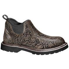 Carhartt Womens 4-Inch Romeo Leather Slip-On Boot-985770 - Gander Mountain