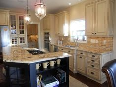 Image of French Country Kitchen Ideas