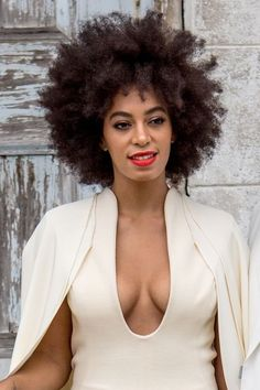 The most iconic brides–and the hair and makeup that shaped their legendary looks: Solange.