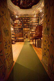 St Peter's Abbey, Zellenbibliothek, Salzburg, Austria.