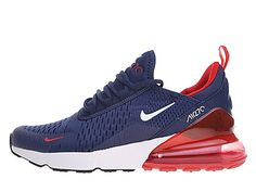buy popular beb36 29ba3 Coussin Dair Officiel Nike Air Max 270 Midnight Chaussures Sportswear Homme  Bleu rouge AH8050-416-1812261332-Chaussures Nike Sportswear Prix Pas Cher  En ...