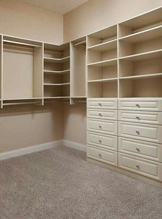 61 Trendy Master Bedroom Closet Organization Ideas Walk In Dressers House Interior, Master Bedroom Closet, Closet Designs, Home Remodeling, Home, Home Bedroom, Closet Bedroom, Home Decor, Closet Remodel