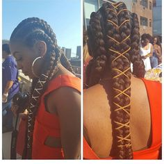 African hairstyles are just too beautiful, especially the braids. Thus, here are the awesome African hairstyles to rock this time; African Hairstyles, Braided Hairstyles, Cool Hairstyles, Black Hairstyles, Goddess Locs, Curly Hair Styles, Natural Hair Styles, Natural Braids, Protective Hairstyles For Natural Hair