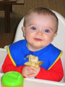 Your baby doesn't need baby food. You read that right, no need for cereals or purees. Baby-led Weaning. Check it out.