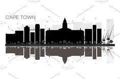 #Cape #Town #City #skyline by Igor Sorokin on @creativemarket
