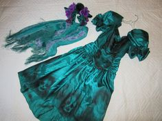 Day of the Dead Costume  dress  womens size 4 by RestyledCostumes