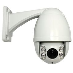 "10 Times Zoom IR High Speed CCTV Outdoor/Indoor Dome Security PTZ Camera - 1/3"" Sony Exview CCD, 600TVL, 10x Optical Zoom, F=1.6 F=4.8mm~48mm. Up to 164 feet IR Distance by Gw. $365.00. Specification and Outline: Model GW60FW Horizontal Rotation speed 180º/s Tile Rotation Speed 120º/s Horizontal Rotation Range 360º Tile Rotation Range 93º Auto Flip Horizontal 180º, Vertical 93º Ratio Speed Support IR Control Auto/Manual/Key Auto control IR LED PWM IR Testing Time..."