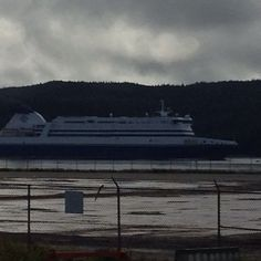 Marine Atlantic Ferry Argentia Newfoundland I took this picture from the front step at work on Argentia Huskey Project!