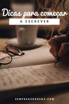 Não sabe como começar a escrever um livro? Então este post do meu blog é o melhor para lhe ajudar um pouco.