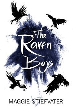 Alternate Raven Boys Cover. Art by julia-draws [I want the whole series in this style, thanks]