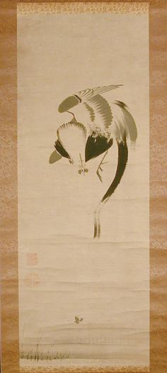Jakuchu itō. Rooster   Art Gallery of Greater Victoria