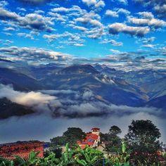 Coroico, La Paz,  Bolivia  Not a bad view for a morning coffee… #Coroico #LaPaz #Bolivia