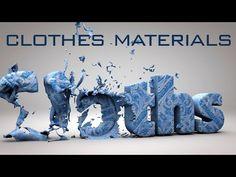 C4D R18 Material tut | C4D Free Mat Pack | C4D Cloth TEAR 02 - YouTube
