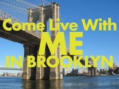 *Come Live With Me In Brooklyn, Jonathan Mann Looks for a Roommate in Song -  http://www.youtube.com/watch?v=VZJqUyS5tvc=player_embedded