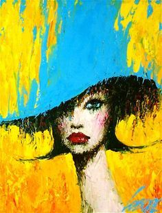 Kai Fine Art is an art website, shows painting and illustration works all over the world. Abstract Portrait, Portrait Art, Abstract Painters, Abstract Art, Art For Art Sake, Art And Illustration, Love Art, Painting Inspiration, Female Art