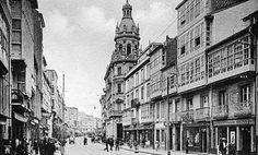 Salvajadas urbanísticas;San Andres,el edificio alto  ,la antigua sede de Caixa Galicia