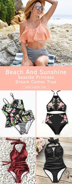 Treat yourself to the hottest items of the season. Come to our Cupshe.com and dress yourself up. Greeting to the wonderful beach vacation and sunshine. Check them out.