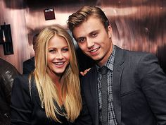 Julianne Hough and Kenny Wormald