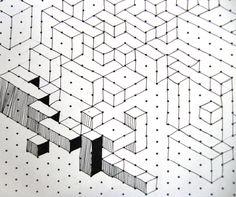 Isometric Cuboids | by maureencrosbie