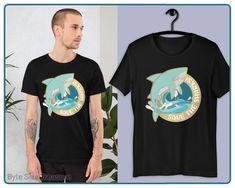 Anti shark finning protest Hammerhead Shark mens T-shirt STOP THE SLAUGHTER