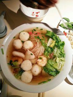 Soup's always a good idea - vietnamese seafood noodle soup