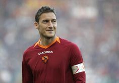 Francesco Totti of Roma during the match between Roma and Catania Calcio at the Stadio Olimpico on November 19 2006 in Rome Italy