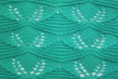Pattern knitting Sprouts