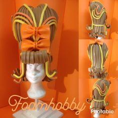 Hair spray, rock and roll , Marie Antoinet styl Fancy Dress, Dress Up, Foam Wigs, Wig Making, Headgear, Headdress, Rock And Roll, Theatre, Las Vegas