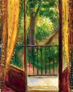 GLACKENS, William  American Ashcan School (1870-1938)_Window at 110, rue de Bac…