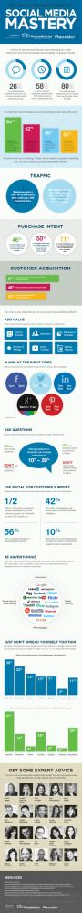 Social Media Mastery For Small Business - Infographic