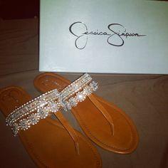 Jessica Simpson Flip Flops ♡