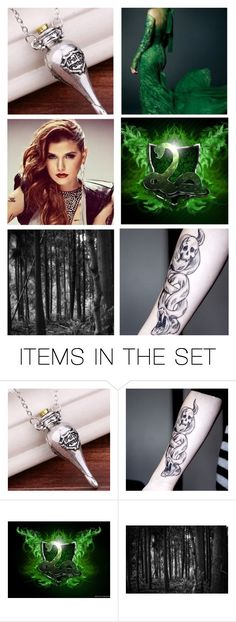 """""""Charlotte (Harry Potter)"""" by maxinehearts ❤ liked on Polyvore featuring art"""