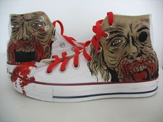 The Walking Dead - Hand-Painted Converse