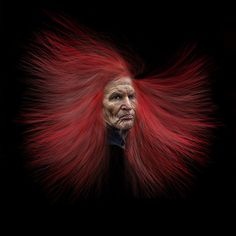 """Cabellera roja"" Hans W. Müller - Argentina - Julio/2016"
