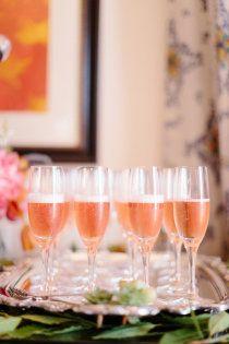 Cocktails ~ Peach Wedding Inspiration ~ #peach #wedding #inspiration @WedFunApps wedfunapps.com ♥'d