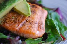 Always Order Dessert: Simple Pan-Seared Salmon with Crispy Skin -- Food Blog and Recipes