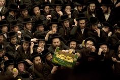 Grabbing bananas  ( Getty Images / February 8, 2012 )  Ultra-Orthodox Jews of the Belz Hasidim take some bananas during the Jewish feast of Tu Bishvat, the new year of the tree in a ceremony in Jerusalem.