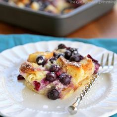 Blueberry Croissant Puff | FaveHealthyRecipes.com