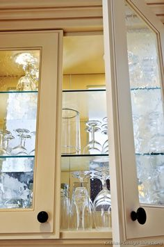 Perfect Kitchen Cabinets With Glass Doors Creative