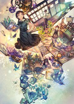 Anime Art Girl, Manga Art, Anime Girls, Manga Illustration, Character Illustration, K Project Anime, Art Pictures, Anime Couples Manga, Online Art