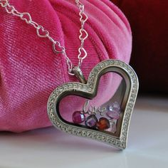 Origami Owl new Heart Locket. The perfect gift for Valentine's Day! www.AngieTowry.OrigamiOwl.com