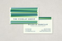 Abstract Geometric Business Card Template from Inkd.