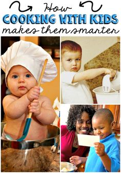 cooking with kids makes them smarter