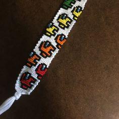 Diy Bracelets Patterns, Diy Bracelets Easy, Thread Bracelets, Bracelet Crafts, Bracelet Designs, Diy Friendship Bracelets Patterns, Alpha Patterns, Bracelet Tutorial, Cute Jewelry