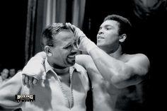 Ali and the great Sugar Ray Robinson