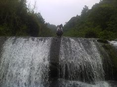 Waterfall in Desa Erelembang Kab. Gowa South Sulawesi, Indonesia