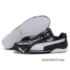 9c0fb4535dd Puma Michael Schumacher Shoes Black White TopDeals