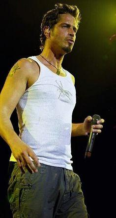 Chris Cornell Live, Tank Man, Mens Tops, Fashion, Moda, Fashion Styles, Fashion Illustrations